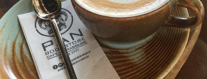 Pan Bookstore & Cafe is one of Locais curtidos por ba$ak.