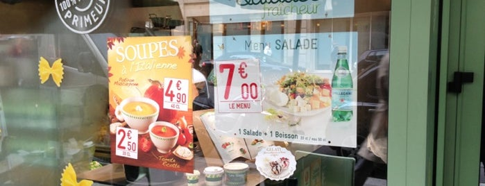 Mezzo di Pasta is one of Paris food.