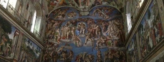 Cappella Sistina is one of Rome / Roma.