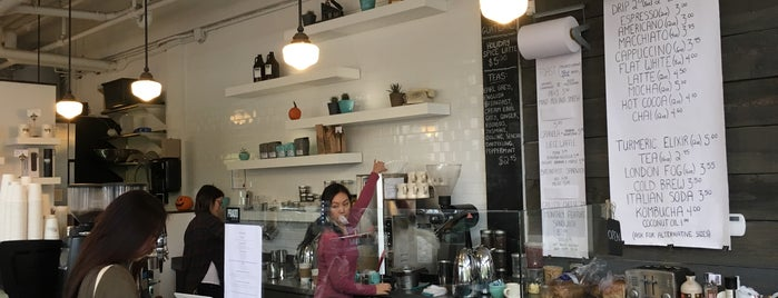 PRADO Cafe is one of Orte, die Mitchell gefallen.