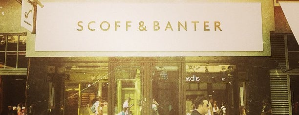 Scoff & Banter is one of London food.