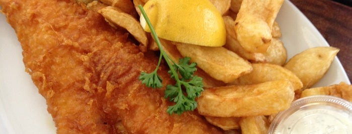 The Rock & Sole Plaice is one of London's great locations - Peter's Fav's.