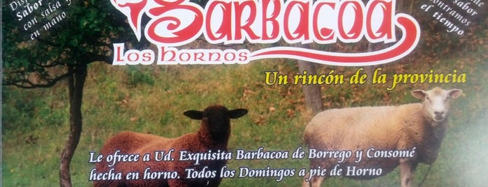Barbacoa Los Hornos is one of Arturo 님이 저장한 장소.