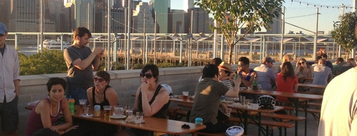 Fornino is one of nyc - outdoor wine/dine.