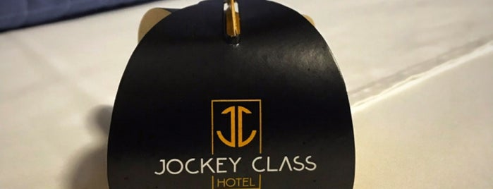 Jockey Class Hotel is one of Tempat yang Disukai Daniel.