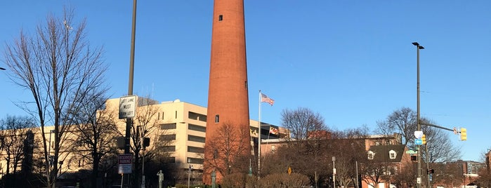 Phoenix Shot Tower is one of The Great Baltimore Check In 2012.