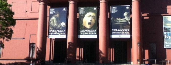 Museo Nacional de Bellas Artes is one of Capital Federal (AR).