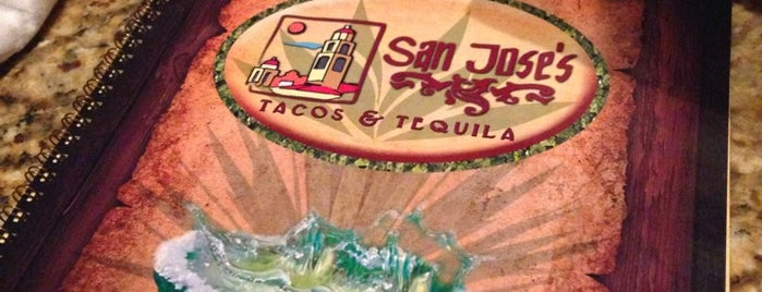San Jose's Tacos & Tequila is one of Orte, die Mike gefallen.