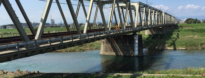 東武東上線 入間川鉄橋 is one of 撮り鉄スポット.