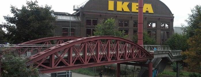 IKEA is one of Orte, die Nikolaus gefallen.