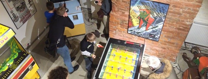 Museum of Soviet Arcade Machines is one of Alexさんのお気に入りスポット.