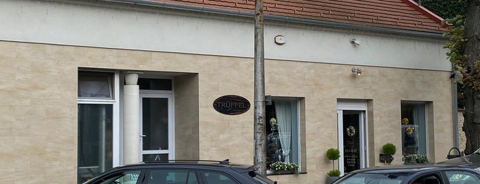 Trüffel Cukrászda is one of Pécs, Harkány, Villány.