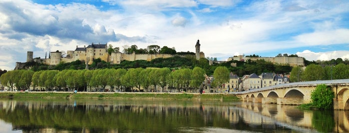 Château de Chinon is one of Roadtrip / Loire.