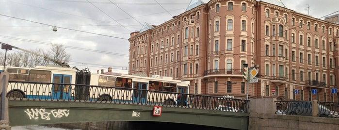 Петропавловский мост is one of Tempat yang Disukai Egor.