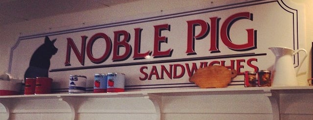 Noble Sandwich Co. is one of TV Food Spots: Austin Metro Area.