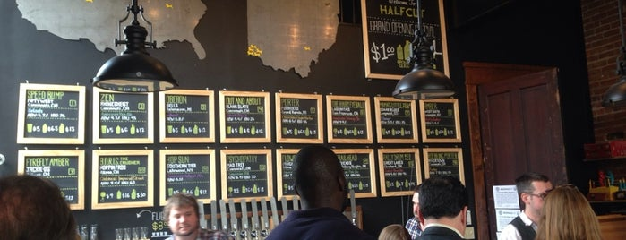 Halfcut is one of Cincinnati Bars.