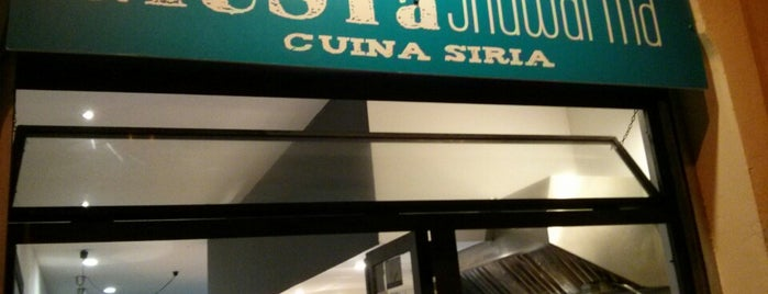 Mustà Shawarma is one of Cheap Eats Barcelona 5-10€.
