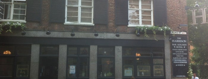 The Harrison is one of London drinking.