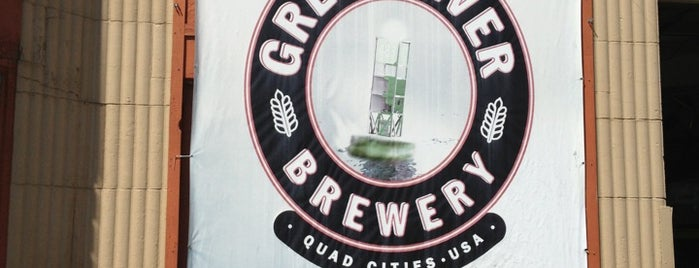 Great River Brewery is one of An Iowa Brewery Tour.