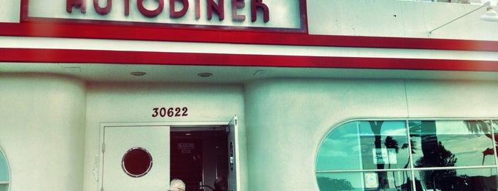 Ruby's Diner is one of Orte, die Rachel gefallen.