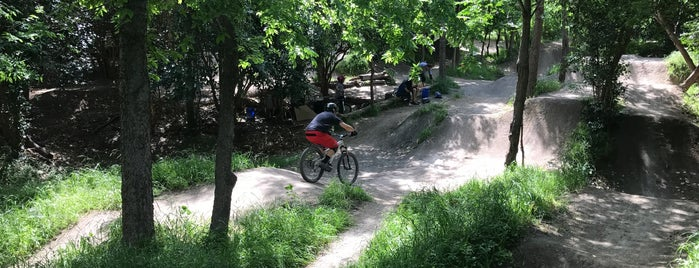 Walnut Creek BMX pump track is one of Places to try Austin.
