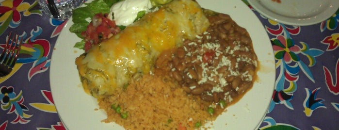 El Charro Cafe is one of Places to try.