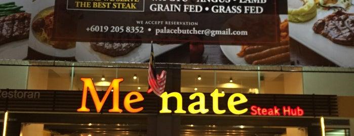 Me'nate Steak Hub is one of Makan2.