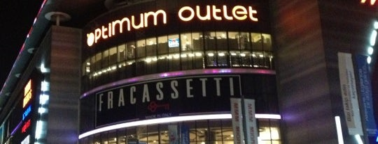 Optimum Outlet is one of Istanbul - AVM - Malls.