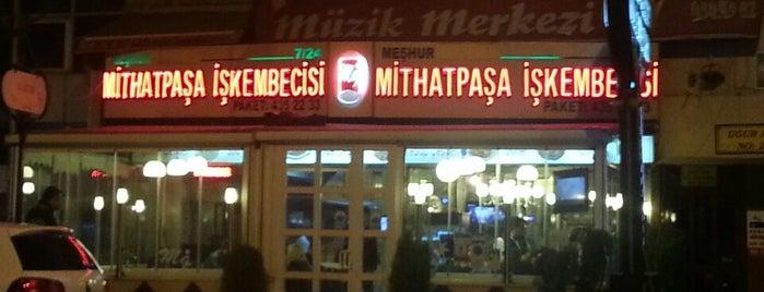 Meşhur Mithatpaşa İşkembe & Kebapçısı is one of Pagan : понравившиеся места.