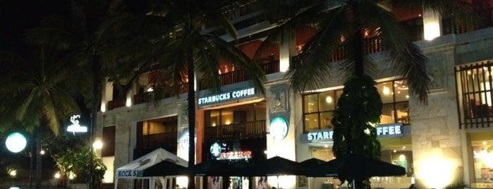 Starbucks is one of Bali Indonesia.