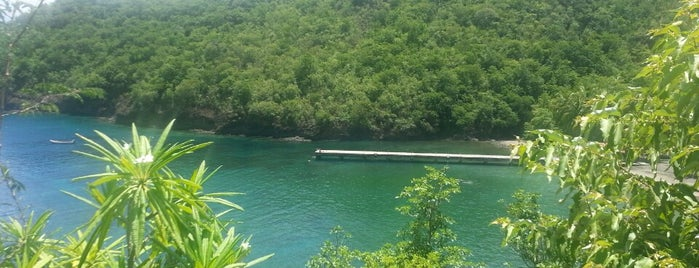 Anse Noire is one of Martinique & Guadeloupe.