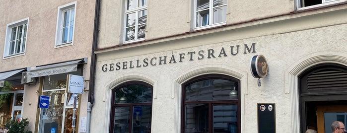 Gesellschaftsraum is one of Munich.