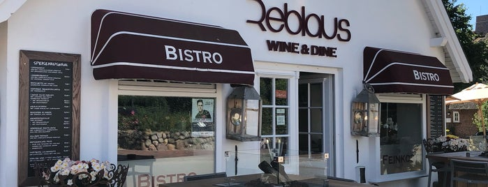 Reblaus-Wine & Dine is one of Sylt ••Spotted••.
