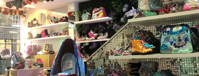 Irregular Choice is one of London shopping..