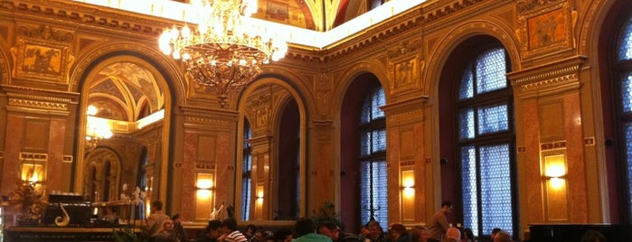 Book Café - Lotz-terem is one of Cafés @ Budapest.