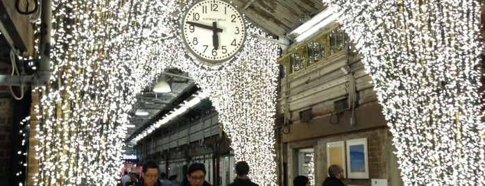 Chelsea Market is one of Fashion Week Haunts.