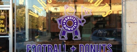 Varsity Donuts is one of Christina 님이 저장한 장소.