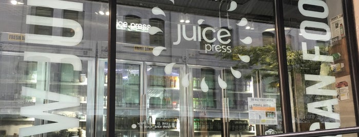 juice press is one of USA NYC MAN FiDi.