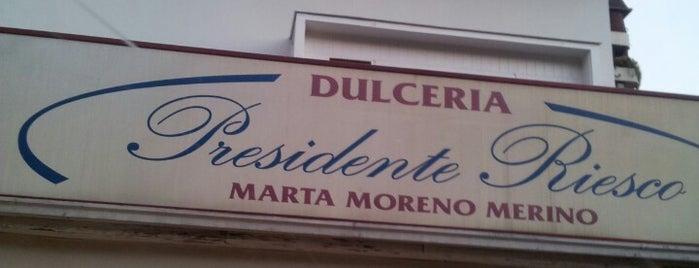 Dulceria Presidente Riesco is one of Santiago wish list.