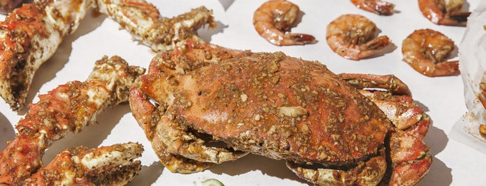 The Angry Crab is one of Tempat yang Disimpan Bert.