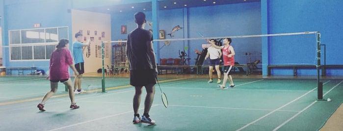 PK  ARENA  Badminton Club is one of Paolo 님이 좋아한 장소.