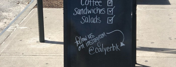 Calyer Cafe & Kitchen is one of New Neighborhood, Same Old Mistakes.