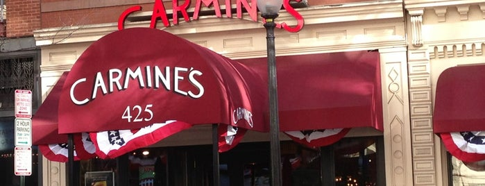 Carmine's Italian Restaurant is one of D.C. Eats to Try.