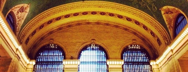 "Grand Central Terminal is one of ""Oh, I love New York""."