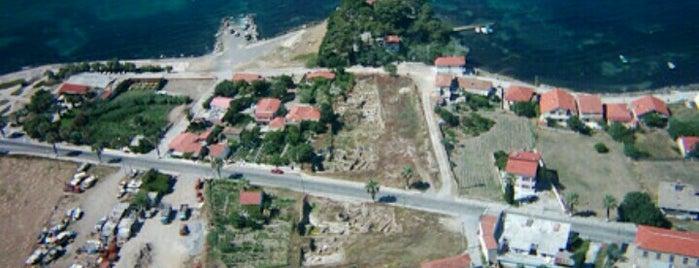 Limantepe is one of Urla.
