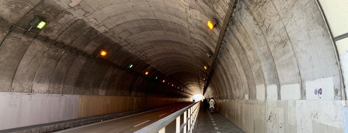 山手隧道 is one of Lugares favoritos de yåsü.