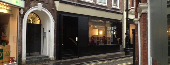 Pollen Street Social is one of Michelin Starred Restaurants in London.