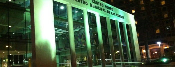 Teatro Municipal de Las Condes is one of Lugares favoritos de Mauricio.