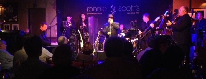 Ronnie Scott's Jazz Club is one of London ••Spottet••.