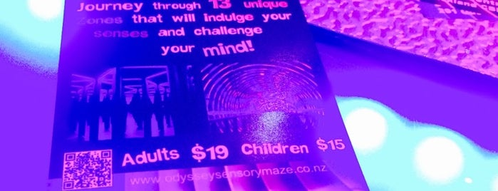 Odyssey Sensory Maze is one of Auckland.